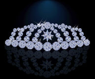 Diamond princess diadem, vector Royalty Free Stock Photography