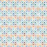 Diamond rack hang colorful Hannukah star seamless pattern Stock Photo
