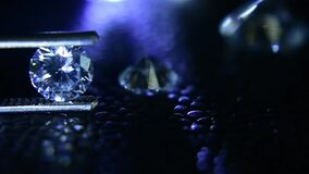 Diamond it is a rare gem that is expensive, clear and sparkling