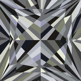 Diamond reflection abstract background vector Stock Photography