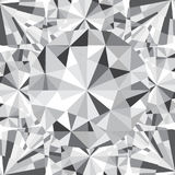 Diamond reflection abstract background vector Stock Image