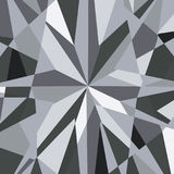 Diamond reflection abstract background vector Royalty Free Stock Image