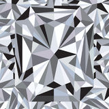 Diamond reflection abstract background vector Royalty Free Stock Photography