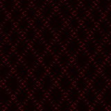 Diamond rhombic red grid, neon  background. Diamond rhombic red grid, neon  dark background Royalty Free Stock Photo