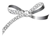 Diamond ribbon Stock Photo