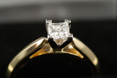 Diamond ring Royalty Free Stock Images