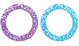 Diamond ring stock illustration