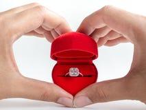 Diamond Ring royalty-vrije stock foto's