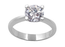Free Diamond Ring Royalty Free Stock Photo - 12600285