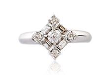 Diamond ring Stock Photography