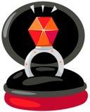 Diamond ring Stock Images