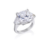 Diamond ring. Stock Images