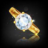 Diamond Ring Photographie stock