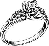 Diamond Ring 2 Royalty Free Stock Photography