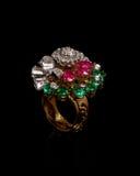 Diamond Ring Royalty-vrije Stock Fotografie