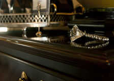 Diamond Ring Stock Afbeelding