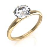 Diamond Ring Stock Afbeelding