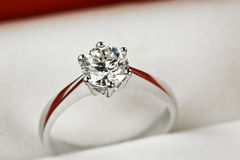 Free Diamond Ring Royalty Free Stock Photography - 4848017
