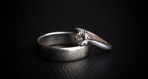 Diamond Ring Royalty-vrije Stock Afbeeldingen