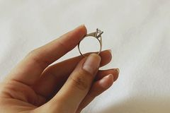 Diamond Ring Lizenzfreies Stockfoto