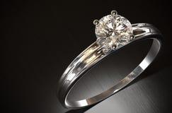 Diamond Ring Fotografie Stock