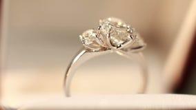 Diamond Ring stock video