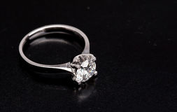Diamond ring royalty free stock photo