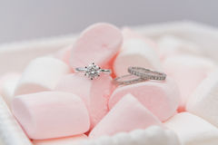 Diamond Ring Fotografia de Stock Royalty Free