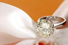 Diamond Ring Foto de Stock Royalty Free