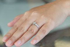 Diamond Ring Images libres de droits