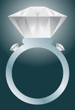 Diamond Ring. An image of a diamond ring Stock Photo