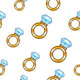 Diamond ring background royalty free illustration