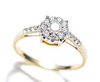 Diamond Ring Closeup Stockbild