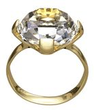 Diamond ring. stock image