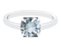 A diamond ring Stock Image