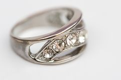 Diamond  ring , jewel Royalty Free Stock Photography