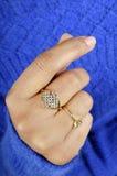 Diamond ring jewellery Royalty Free Stock Photography