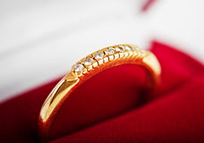 Diamond ring Stock Images