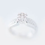 Diamond Ring wedding gift Stock Image