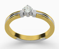 Diamond Rings Royalty Free Stock Photo
