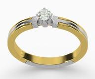 Diamond Rings Royalty Free Stock Photo