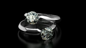 Diamond Rings ilustración del vector