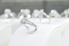 Diamond Rings foto de stock royalty free