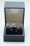 Diamond rings Stock Photography