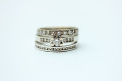 Diamond rings Royalty Free Stock Images
