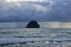 Diamond Rock Rocher, Martinique Island Royalty Free Stock Photos