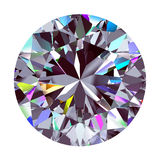 Diamond Round 3d model vector illustratie