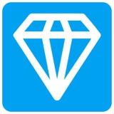 Diamond Rounded Square Raster Icon royalty-vrije illustratie