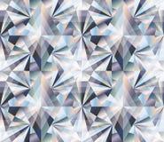 Diamond seamless background, vector Royalty Free Stock Photo