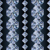Diamond seamless banners, vector Stock Photography